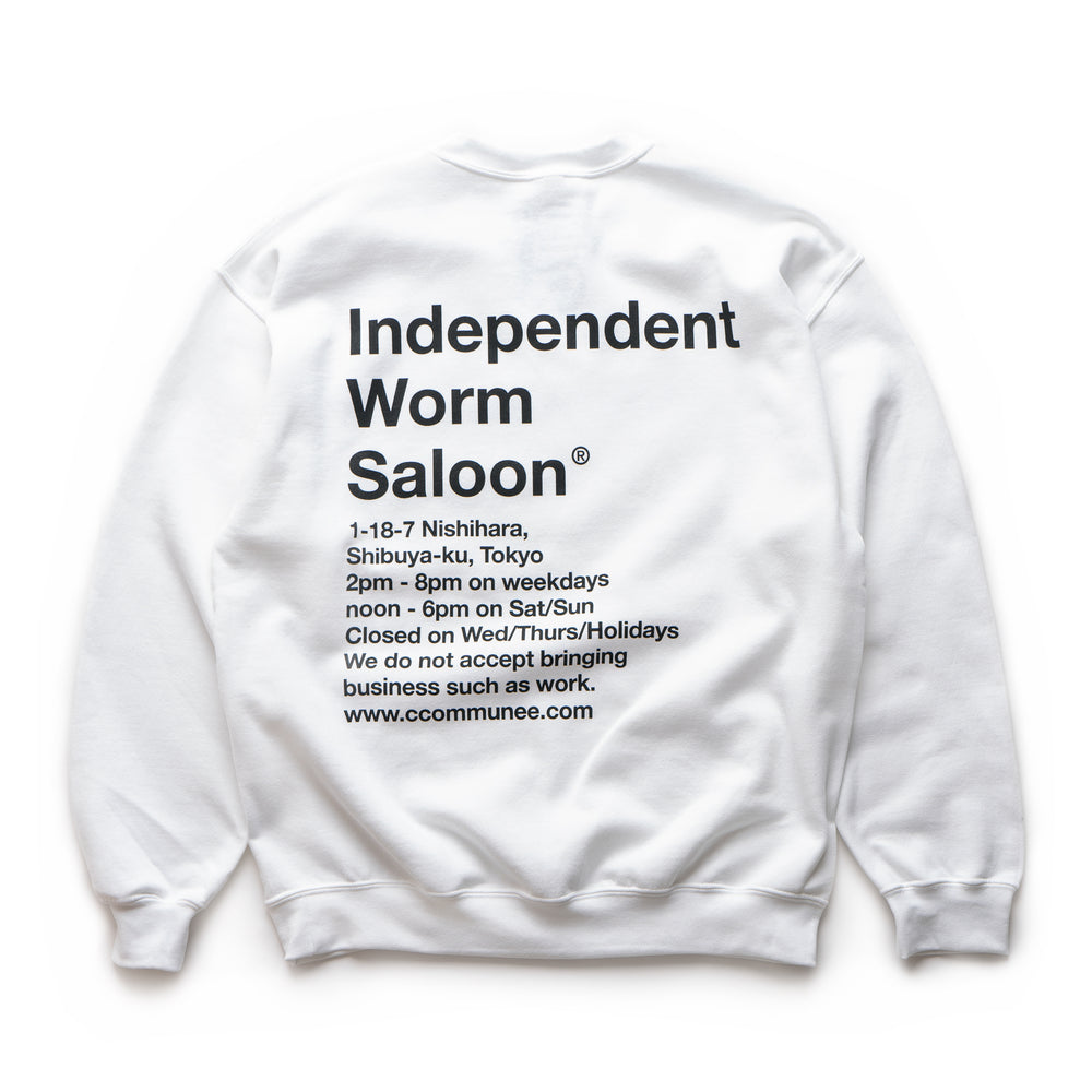 Independent Worm Saloon Sweat Shirt By Rat Brain For Commune x Supply