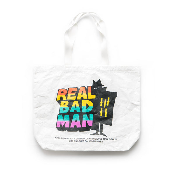 RBM Tyvek Tote Bag - White