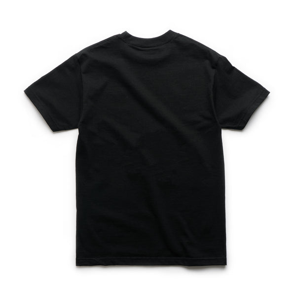 Let Em Know Tee - Black