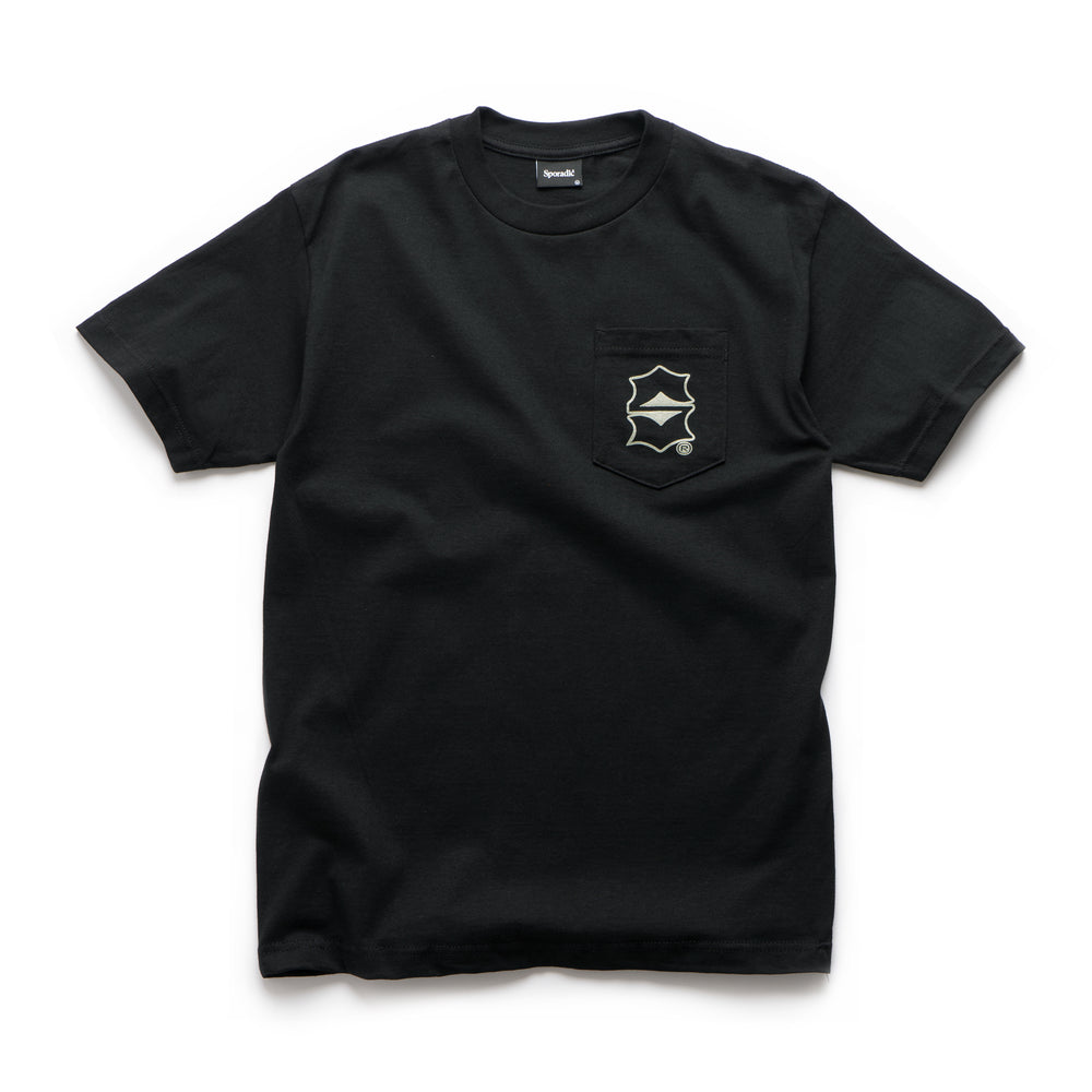 S.Dot Pocket Tee - Black