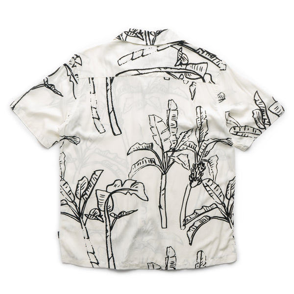 Banana Tree Shirt - Off White