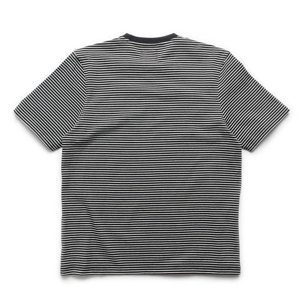 Mini Stripe Crew - Black