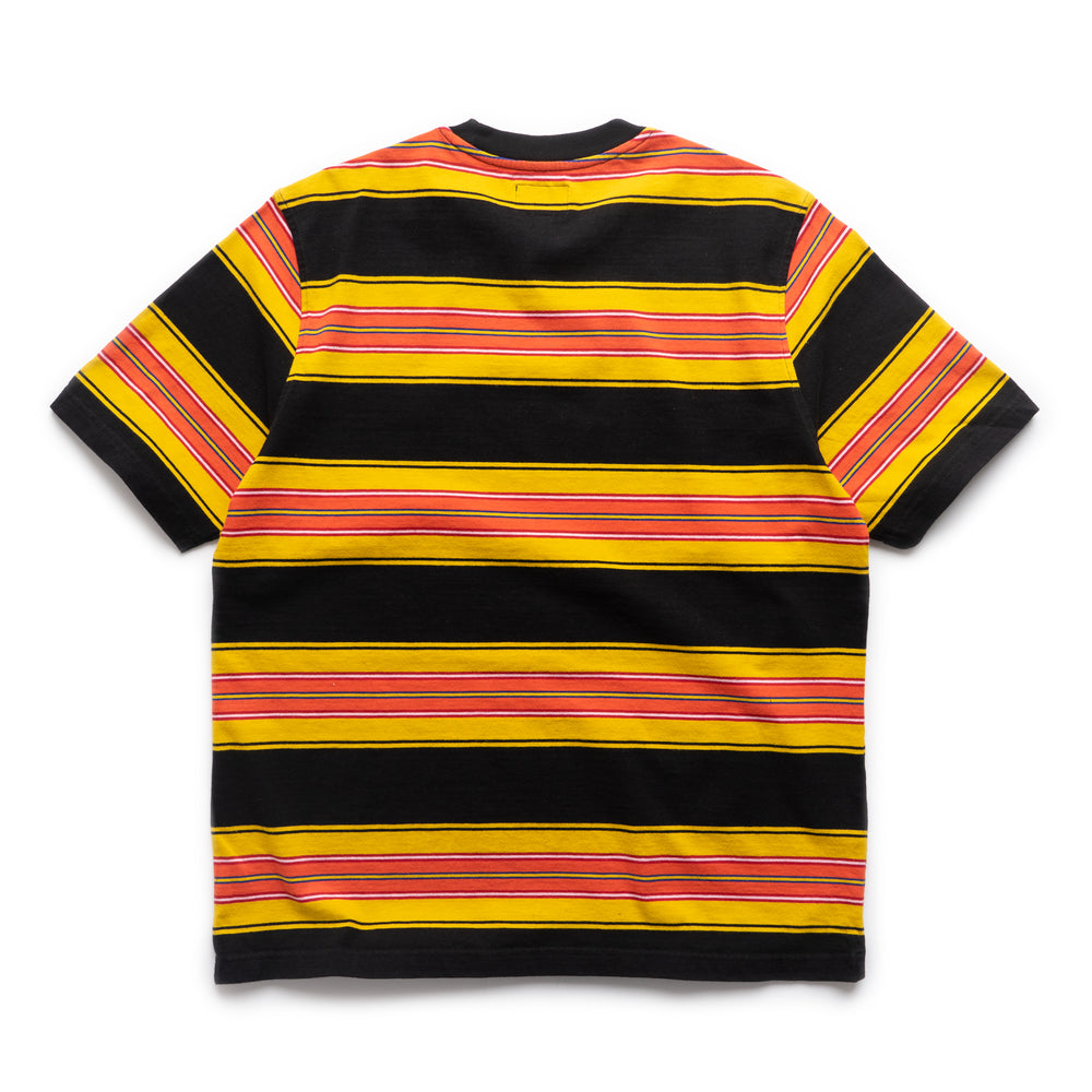 Multi Striped Crew - Black