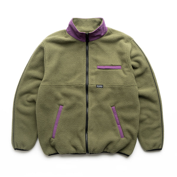 Nylon Mock Neck - Olive