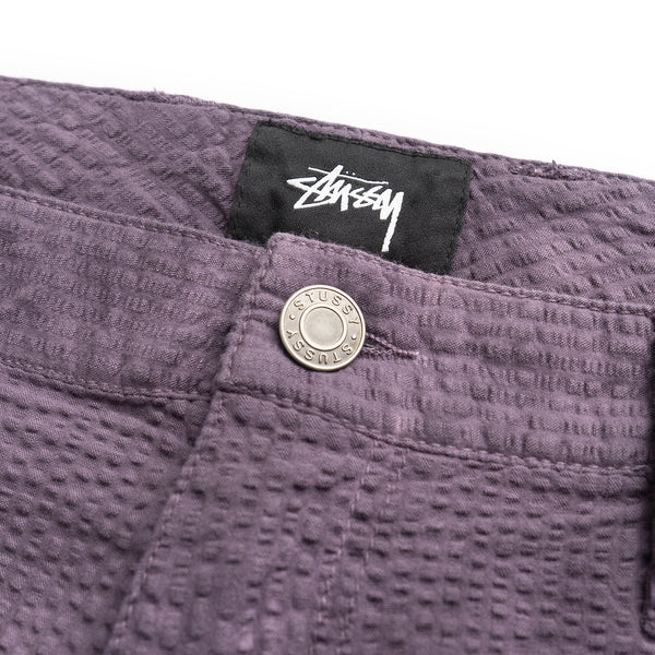 O'Dyed Seersucker Work Pant - Purple