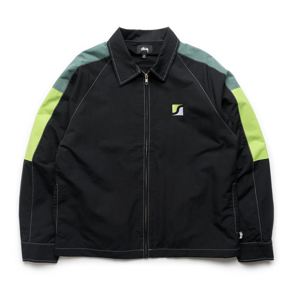 Panel Zip Jacket - Black