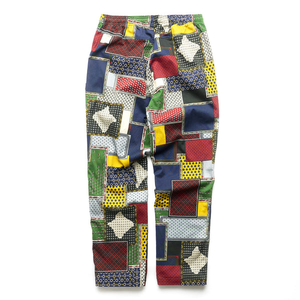 Patchwork Cord Beach Pant - Multi