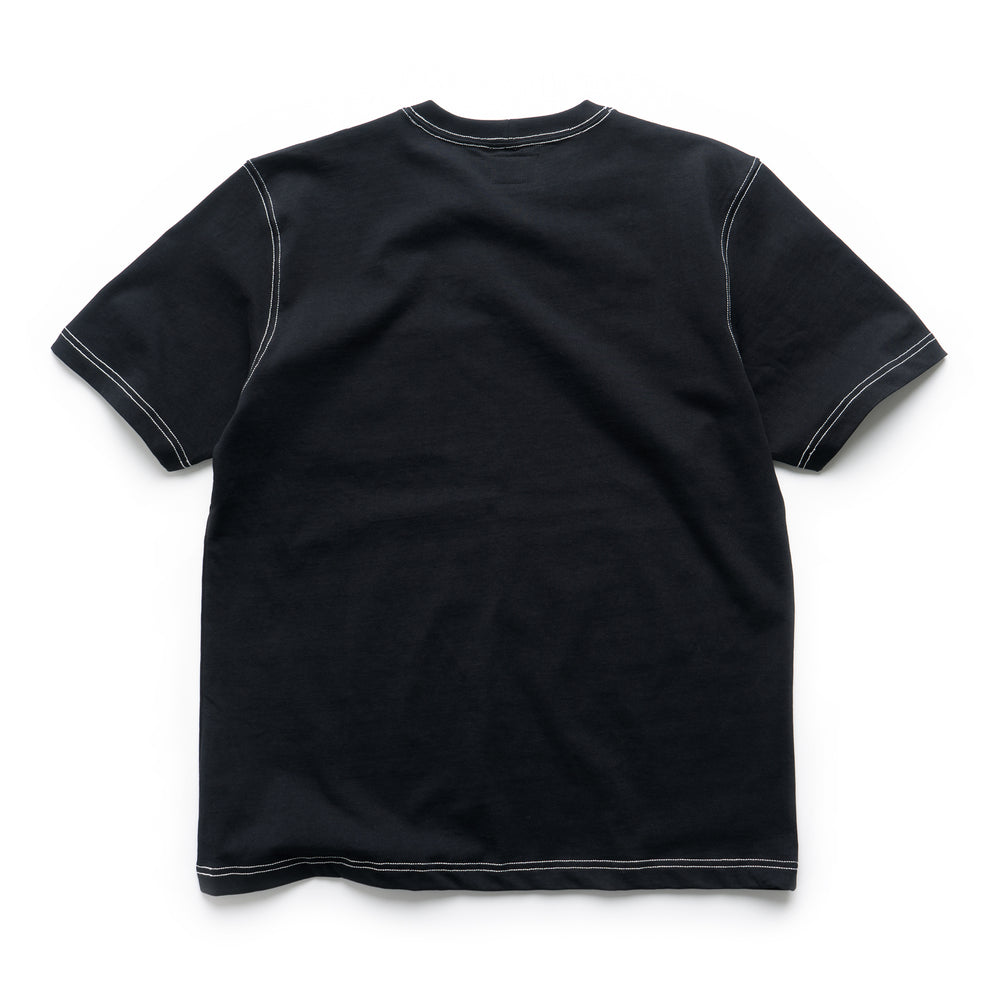 Stock Pocket Crew - Black