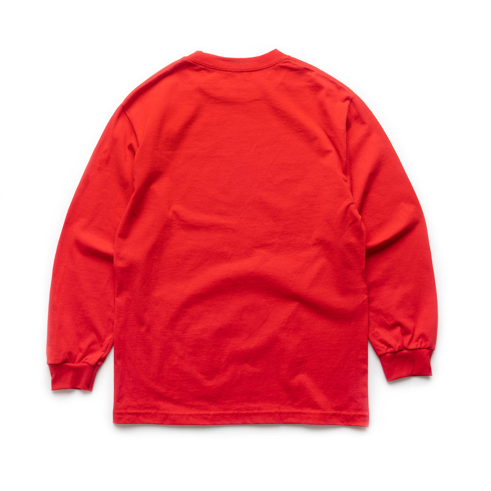 Backdoor Twinkle Chan LS Tee - Red