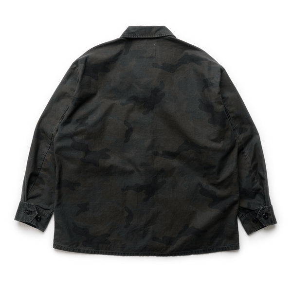 Jungle LS 02 Shirt - Woodland Camo