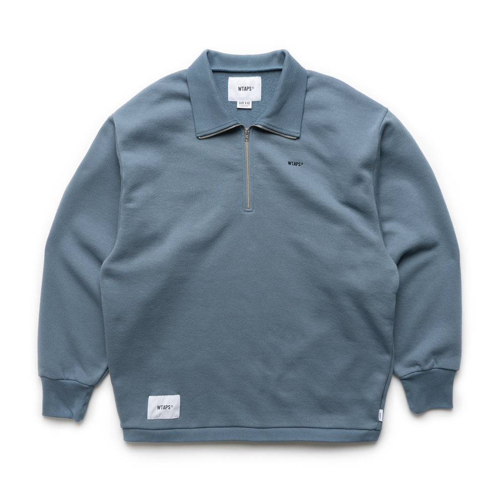Polo LS Shirt - Blue