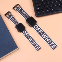 Offf White Apple Watch Band