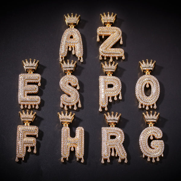Crown Drip Letter