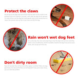 4PCS Paw Protector Dog Shoes - MegaaMobileMall