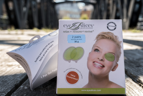 PURE Beauty Zone - eyeSlices - all natural eye pads