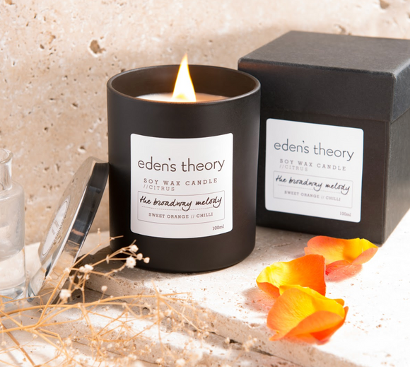 PURE Beauty Zone - Eden's Theory - clean and all natural candles