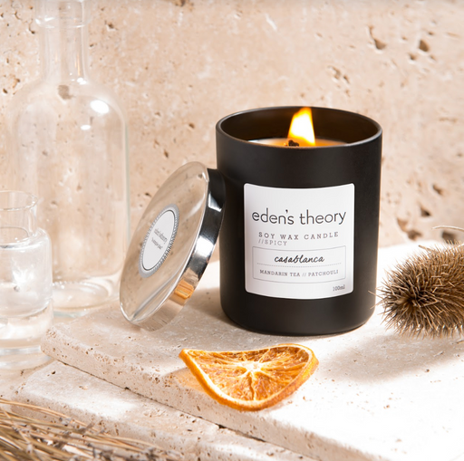 Eden's Theory 'Casablanca' Soy Wax Candle