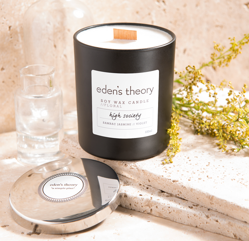 Eden's Theory 'High Society' Soy Wax Candle