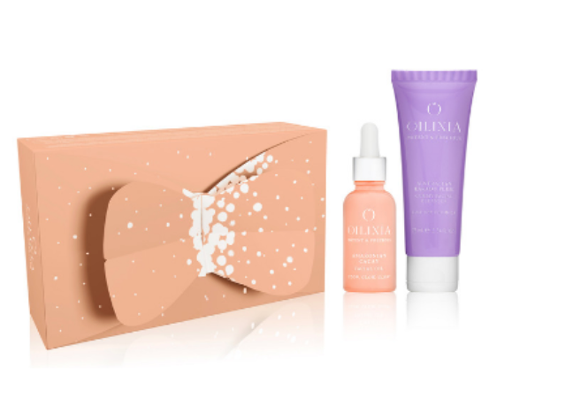PURE Beauty Zone - Oilixia Glow Christmas set - all-natural and vegan beauty kit