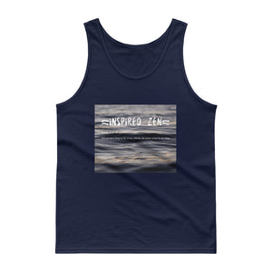 Men's Inspired Zen Tank top - Inspired Zen, LLC