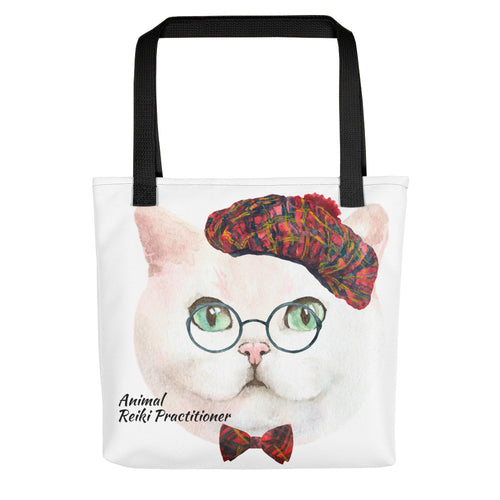 Cat Animal Reiki Practitioner Tote bag - Inspired Zen, LLC