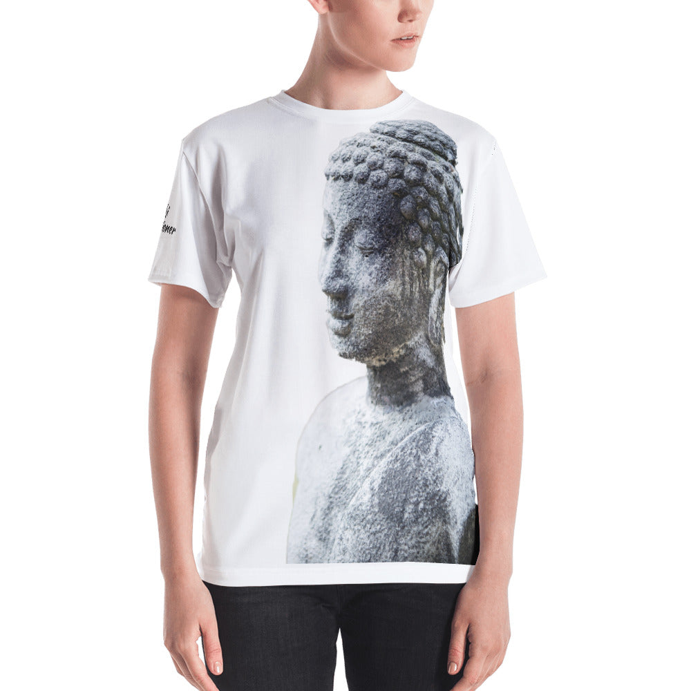 Reiki Practitioner Women's Buddha T-shirt - Inspired Zen, LLC