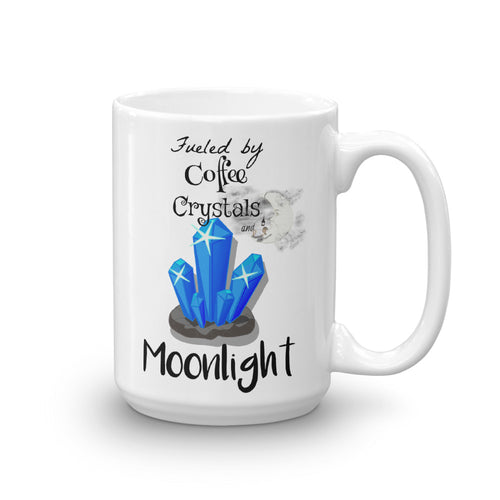 Coffee, Crystals & Moonlight Mug - Inspired Zen, LLC