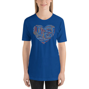 The Heart of a Lightworker Short-Sleeve Unisex T-Shirt - Inspired Zen, LLC