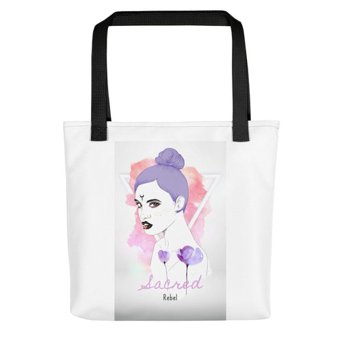 Sacred Rebel Tote bag - Inspired Zen, LLC