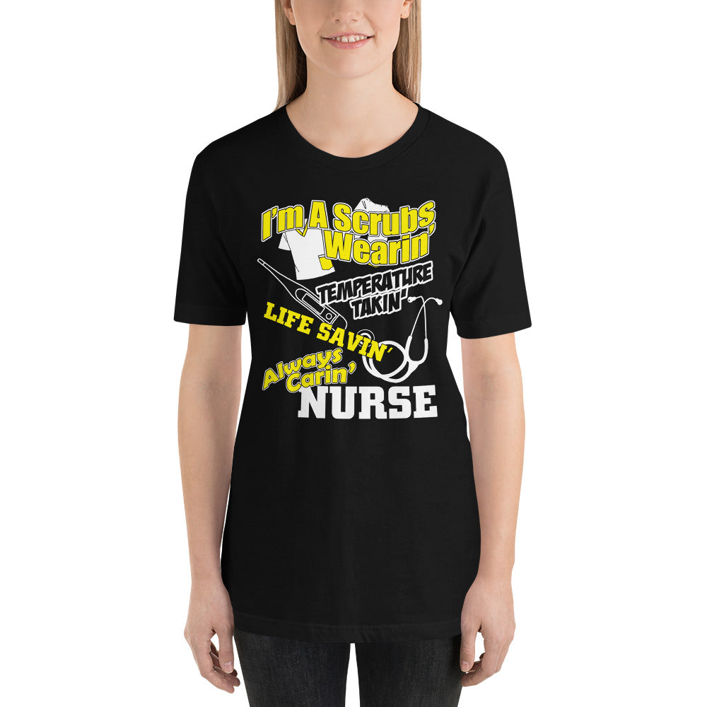Caring Nurse Short-Sleeve Unisex T-Shirt - Inspired Zen, LLC