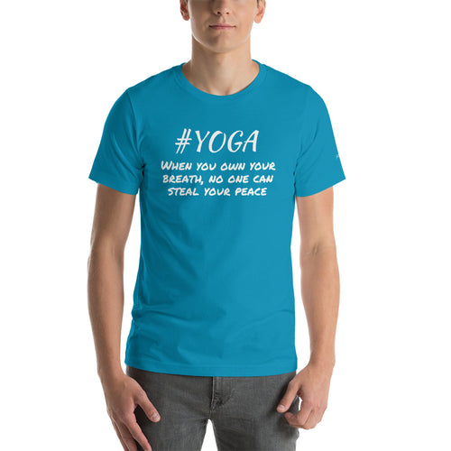 #YOGA shirt-Inspired Zen