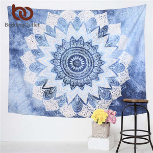 Floral Boho Wall Tapestries, size varies - Inspired Zen, LLC