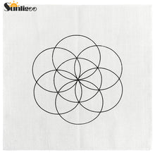 1 pc Geometry Crystal Grid Cloth, 3 options available - Inspired Zen, LLC