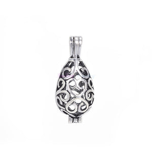 Pearl Cage Aromatherapy Locket, several options available - Inspired Zen, LLC