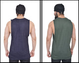 Cutoff Combo Pack Of 2<br>( Midnight Black & Military Green)