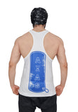 White & Royal Blue Dry-Tuff Performance King of Kings Stringer