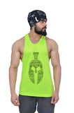 Neon Green & Black Dry-Tuff Performance Spartan Typography Stringer