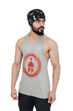 Silver & Red Dry-Tuff Performance Big Logo Stringer