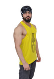 Yellow & Black Dry-Tuff Performance Spartan Typography Stringer