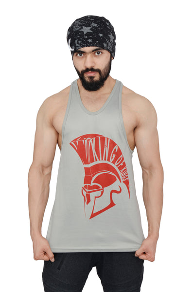 Silver & Red Dry-Tuff Performance King Of Kings Stringer