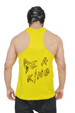 Yellow & Black Dry-Tuff Performance Small Logo Stringer