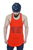 Rising Red & Black Spartan Quote Longline Arc Stringer