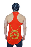 "Rising Red & Yellow ""Bow Down To The King"" Longline Arc Stringer"