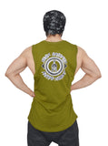 Street Olive Arckon Drop Armhole Be A King Cutoff