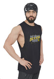 Brutal Black Arckon Drop Armhole Be A King Cutoff