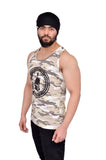 Desert Brown Camouflage Big Logo Stringer