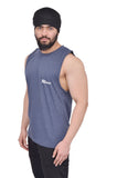 Duke Blue Oversized Cutoff