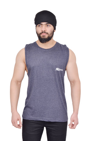 Midnight Black Oversized Cutoff