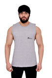 Platinum Grey Oversized Cutoff