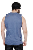 Duke Blue Oversized Cutoff (Distressed)